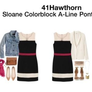 NWT Stitch Fix 41Hawthorn Sloane Colorblock Dress
